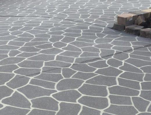Stenciling Design of Concrete